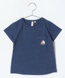 LAGOM/マリンプリントポケットTシャツ/500974890