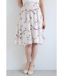 PROPORTION BODY DRESSING/◆ペインティングフラワーアシンメトリースカート/500984064