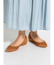 STYLE DELI/【L'Arianna】03-suede pointed toe flats/500989273