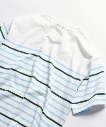 SHIPS JET BLUE/SHIPS JET BLUE: マリンボーダー半袖Tシャツ/500990182