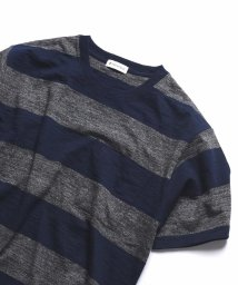 SHIPS JET BLUE/SHIPS JET BLUE: ヘザーボーダーTシャツ/500990183