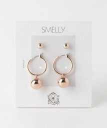 SMELLY/メタルボールセットピアス/500990979
