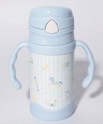 Afternoon Tea LIVING/木馬柄ストロー付きステンレスマグカップ/500975210