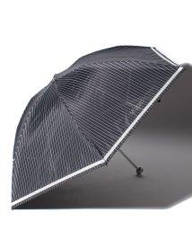MACKINTOSH PHILOSOPHY/MACKINTOSHPHILOSOPHY/マッキントッシュフィロソフィー晴雨兼用日傘軽量ストライプ折りたたみ傘/500979870