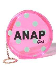 ANAP GiRL/クリアドットコインケース/500985056