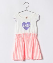 ANAP KIDS/ストライプ切替ワンピース/500985061