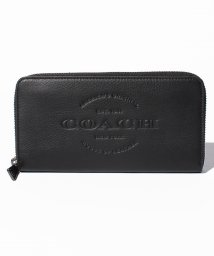 COACH/COACHOUTLETF24648BLKラウンドファスナー長財布/500982867