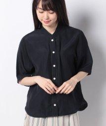 OLD ENGLAND/【WEB先行】キュプラコットンツイルシャツ/500825665
