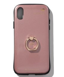 SELECT/〈+R/プラスアール〉PROTECTOR +FINGER RING iPhoneX(衝撃吸収タイプ)/500893499