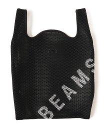 bPr BEAMS/BEAMS / MESH ショッパーバッグ/500984505