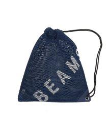 bPr BEAMS/BEAMS / MESH ランドリーバッグ/500984506