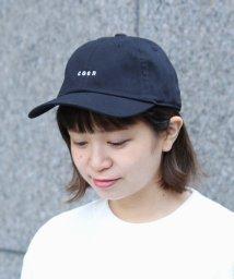 coen/coen(コーエン)チビロゴ刺繍ベースボールキャップ/500984925