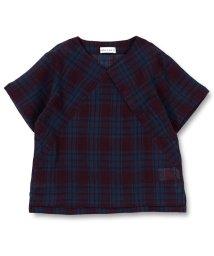 branshes/【限定】チェックプルオーバーシャツ/500986232