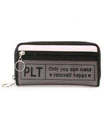 PINK-latte/メッシュポケロゴ長財布/500994346