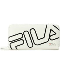 PINK-latte/FILA バイアスロゴ長財布/500994347