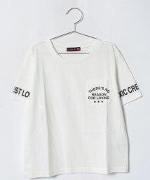 Lovetoxic/ポケットつきロゴTシャツ/500988616