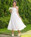 form forma/【結婚式・ウェディングドレス】kaene/フラワーチュール×シフォンフレアロングウェディングドレス/500991291