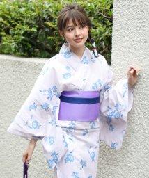 MAJESTIC LEGON/【WEB限定】水彩花柄浴衣(4点セット)/500995114