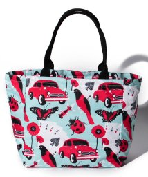 LeSportsac/SMALL EVERYGIRL TOTE レッドアンドブラック/LS0020160