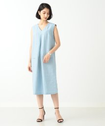 Demi-Luxe BEAMS/Demi-Luxe BEAMS / フロントタック ワンピース/500971296