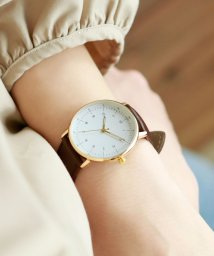colleca la/レザーバンド・シンプル腕時計/500989238