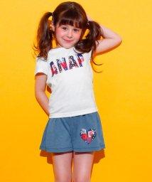 ANAP KIDS/カットデニムフレアパンツSETUP/500992688