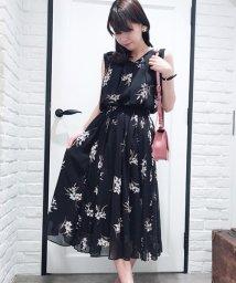 Noela/【セットアップ対応商品】オリジナルラフィネリリー柄スカート/500993531