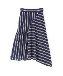 PROPORTION BODY DRESSING/《BLANCHIC》ミックスストライプスカート/500995144