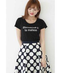 PROPORTION BODY DRESSING/ラウンドネックロゴTシャツ/500995150
