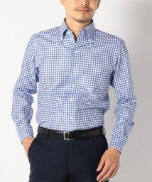 SHIPS MEN/SD: 【MONTI社製生地】カラミ イタリアンボタンダウンシャツ(ギンガムチェック)/500997898