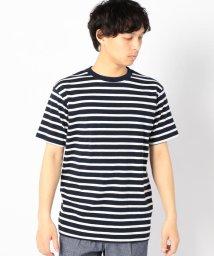 SHIPS MEN/SC: リサイクルコットン ボーダー Tシャツ/500997905