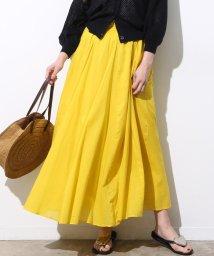 ViS/【WEB限定カラー】インド綿パネルギャザーロングスカート/500998449