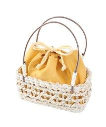 Dita/夏素材のトウモロコシかごバッグ浴衣用/501001046