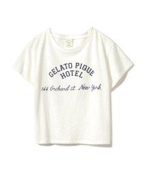 gelato pique/HOTELライクワンポイントTシャツ/501001058