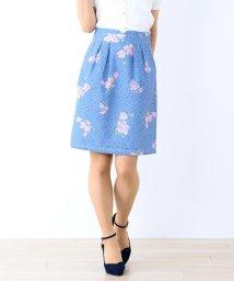 MISCH MASCH/【美人百花6月号掲載】花柄レースタイトスカート/500807190
