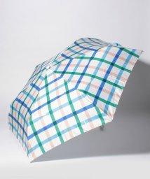 estaa/雨傘estaa×mt折りたたみ傘(UV)テープチェック/500994516