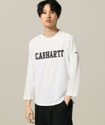 JOINT WORKS/eye CDG*Carhartt college customize tee/501003479
