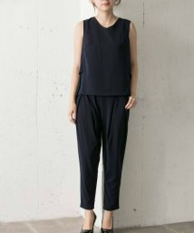 URBAN RESEARCH/COUTURE MAISON バックプリーツセットアップパンツドレス/501003777