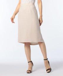 NOLLEY'S sophi/麻調ツイルフレアテイルスカート/500991597