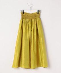 Ravissant Laviere/スモッキングギャザースカート/500991599