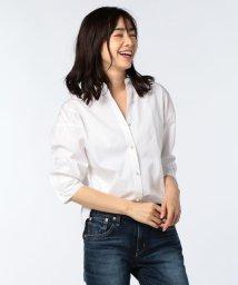 NOLLEY'S/パール釦 裾2-WAYシャツ/500991600