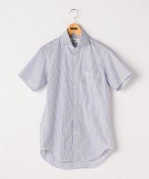 NOLLEY'S goodman/ノンプレス半袖ワイドカラーシャツ/500991893