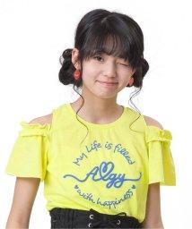 ALGY/肩あきサークルロゴT/500998837