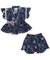 Petit jam / F.O.KIDS MART/petitjamのお花柄甚平スーツ/500998906