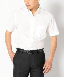 SHIPS MEN/SD: 『カラミ』ソリッド イタリアンボタンダウン ショートスリーブ(半袖) シャツ(ホワイト)/501003909