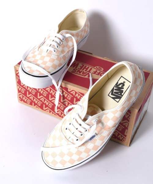 SHIPS MEN(シップス メン)/VANS: 【CHECKERBORD】 AUTHENTIC/115400004