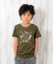 GLAZOS/マリンイラスト半袖Tシャツ/501005021