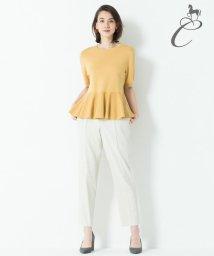 JIYU-KU /【Class Lounge】LINEN STRETCH パンツ/501005501