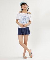 Lovetoxic/刺しゅう入りロゴTシャツ×キャミソール×スカパンセット/500996465