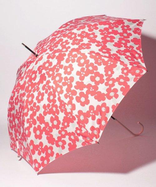 Afternoon Tea LIVING(アフタヌーンティー・リビング)/ビッグフラワー柄長傘雨傘/FE5985978
